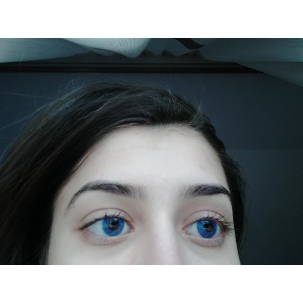 ColourVUE Basic Blue - lentile de contact colorate albastre trimestriale - 90 purtari (2 lentile/cutie)