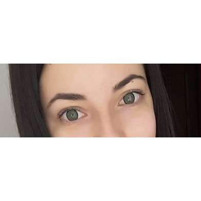 Phantasee Vivid Green - lentile de contact colorate verzi trimestriale - 90 purtari (2 lentile/cutie)