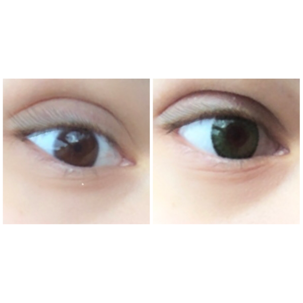 Bausch & Lomb Soflens Natural Colors Emerald - lentile de contact colorate verzi lunare - 30 purtari (2 lentile/cutie)