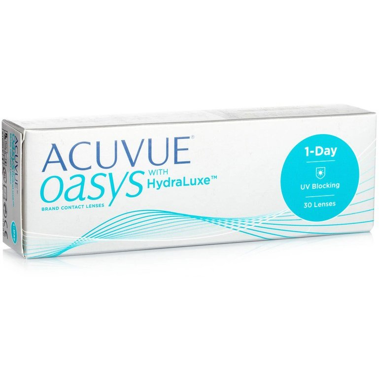 Acuvue Oasys 1 Day with HydraLuxe zilnice 30 lentile / cutie lensa.ro