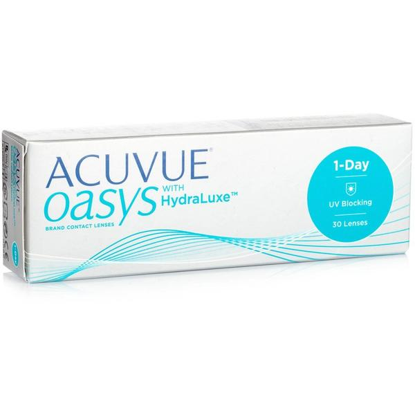 Johnson&Johnson Acuvue Oasys 1 Day with HydraLuxe zilnice 30 lentile / cutie