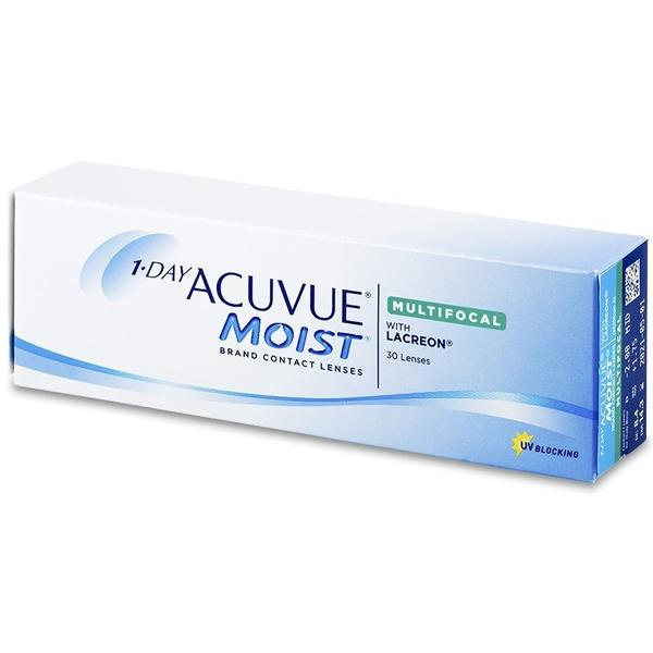Johnson&Johnson 1 Day Acuvue Moist Multifocal zilnice 30 lentile / cutie