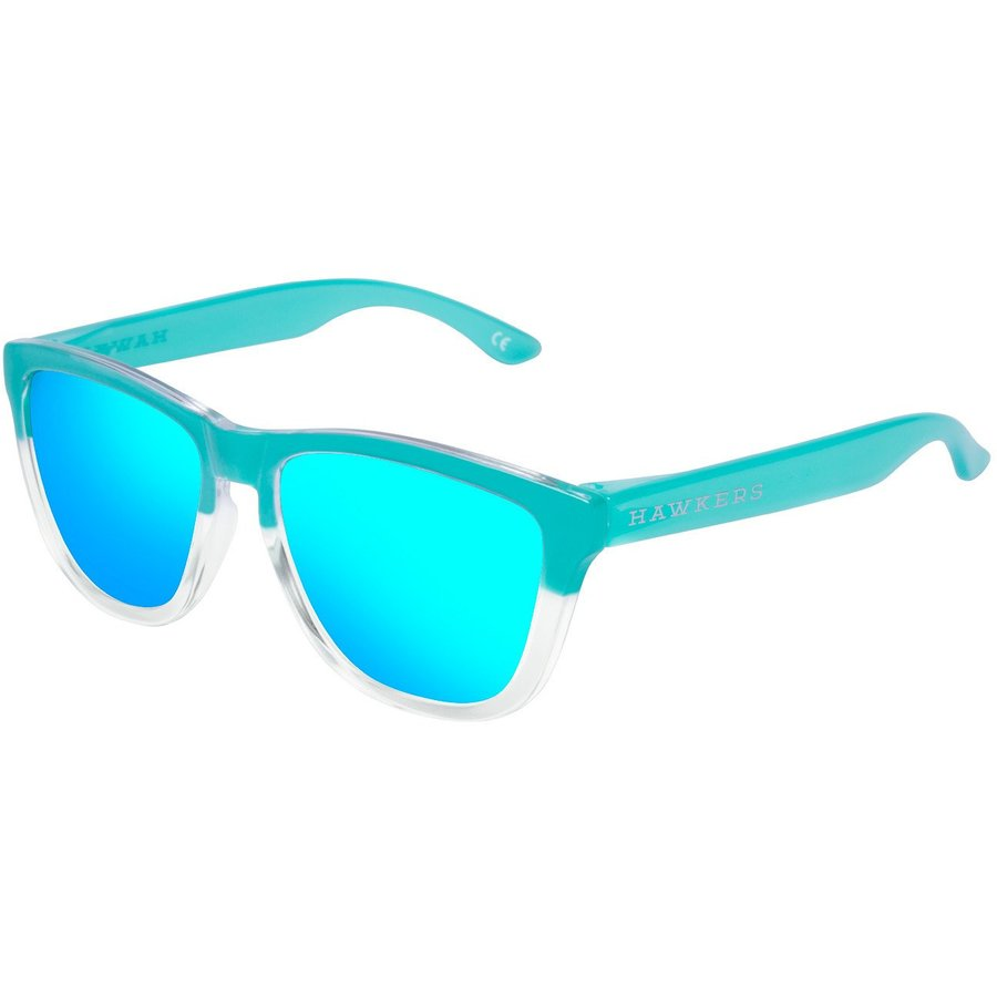 Ochelari de soare unisex Hawkers OTR46 Bicolor Tiffany Light Blue One