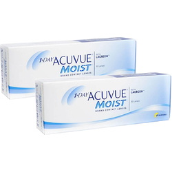 Johnson&Johnson 1 Day Acuvue Moist zilnice 2 x 30 lentile / cutie