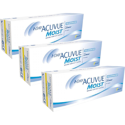 Johnson&Johnson 1 Day Acuvue Moist for Astigmatism zilnice 3 x 30 lentile / cutie