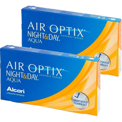 Alcon Air Optix Night & Day Aqua lunare 2 x 6 lentile / cutie