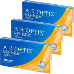 Alcon / Ciba Vision Alcon / Ciba Vision Air Optix Night & Day Aqua lunare 3 x 6 lentile / cutie