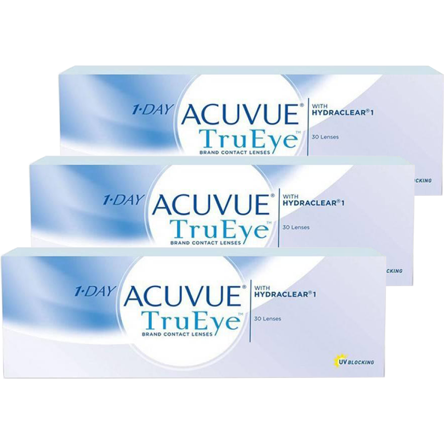 Johnson&Johnson 1 Day Acuvue TruEye zilnice 3 x 30 lentile / cutie thumbnail