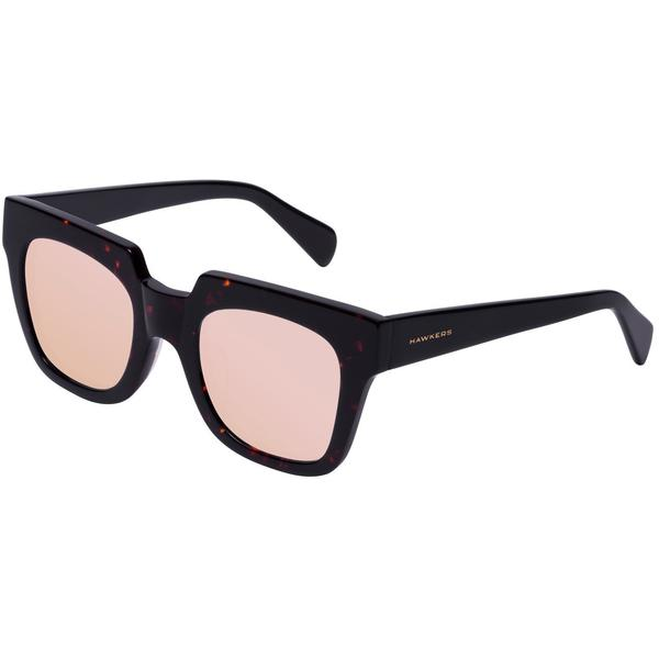 Ochelari de soare dama Hawkers ROX03 Dark Carey Black Temple Rose Gold Row X