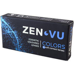 ZenVu Desire Honey - lentile de contact colorate caprui trimestriale - 90 purtari (2 lentile/cutie)