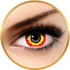 Fantaisie Mini Sclera Scream - lentile de contact pentru Halloween anuale - 365 purtari (2 lentile/cutie)