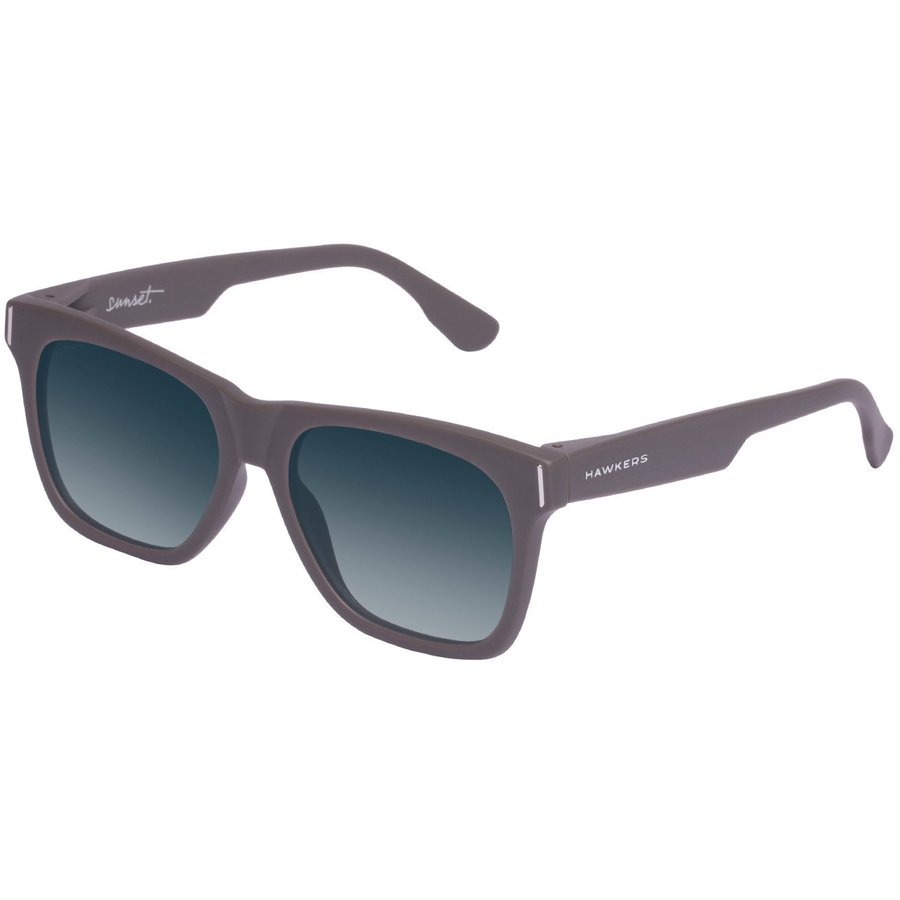 Ochelari de soare unisex Hawkers SUN08 Carbon DARK GREY BLUE SUNSET