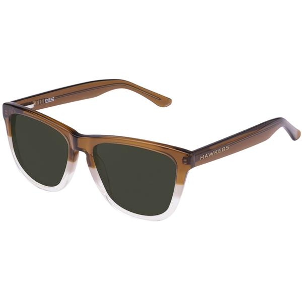 Ochelari de soare unisex Hawkers OX36 TRI BROWN GREEN BOTTLE ONE X