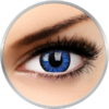 ColourVUE Glamour Blue - lentile de contact colorate albastre trimestriale - 90 purtari (2 lentile/cutie)