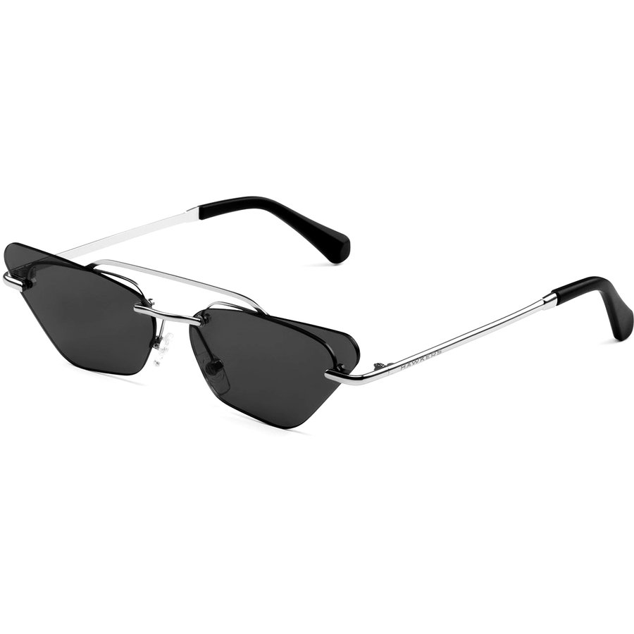 Ochelari de soare dama Hawkers H04FHM1801 Silver Dark Little Paparazzi imagine 2021