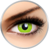 ColourVUE Crazy Avatar - lentile de contact colorate galbene anuale - 360 purtari (2 lentile/cutie)