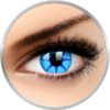 ColourVUE Crazy Blue Star - lentile de contact colorate albastre anuale - 360 purtari (2 lentile/cutie)