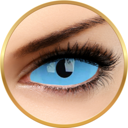 ColourVUE Sclera Athena Blue - lentile de contact colorate Crazy albastre anuale - 185 purtari (2 lentile/cutie)