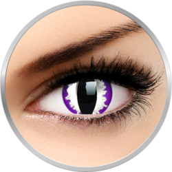 ColourVUE Crazy Purple Dragon - lentile de contact colorate violet anuale - 360 purtari (2 lentile/cutie)