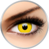 ColourVUE Crazy Yellow - lentile de contact colorate galbene anuale - 360 purtari (2 lentile/cutie)