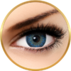Bella Natural Looking Lenses Cool Blue - lentile de contact colorate albastre trimestriale - 90 purtari (2 lentile/cutie)