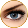 Bella Natural Looking Lenses Blue - lentile de contact colorate albastre trimestriale - 90 purtari (2 lentile/cutie)