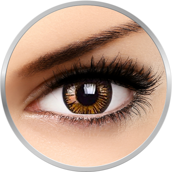 Imagine Beautiful Eyes Charming Brown - Lentile De Contact Colorate Caprui Trimestriale 90 Purtari
