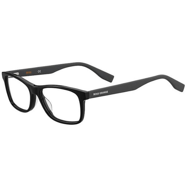 Rame ochelari de vedere unisex BOSS ORANGE BO 0319 807 BLACK