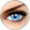 ColourVUE Glow Blue - lentile de contact colorate albastre anuale - 360 purtari (2 lentile/cutie)