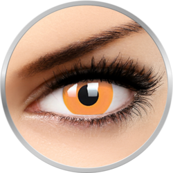 ColourVUE Glow Orange - lentile de contact colorate portocalii anuale - 360 purtari (2 lentile/cutie)
