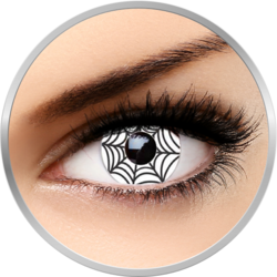 Fantaisie Spider - lentile de contact Crazy pentru Halloween 1 purtare - One day (2 lentile/cutie)