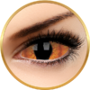 ColourVUE Sclera Shadowcat - lentile de contact colorate negre anuale - 185 purtari (2 lentile/cutie)