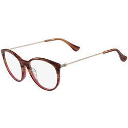 Rame ochelari de vedere dama Calvin Klein CK5928 STRIPED BROWN ROSE
