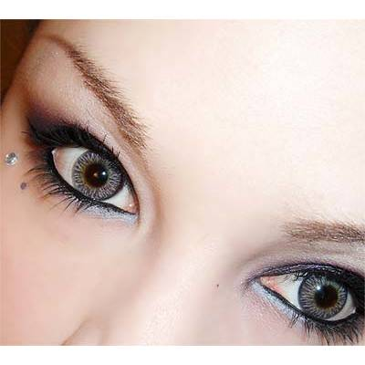 28739926273e Adore Bi Tone Grey - lentile de contact colorate gri trimestriale - 90  purtari (2