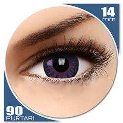 Natural Violet - lentile de contact colorate violet trimestriale - 90 purtari (2 lentile/cutie)