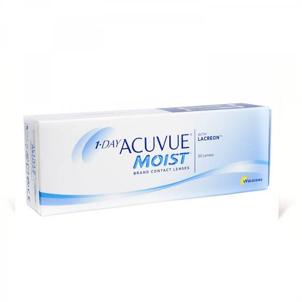 Johnson&Johnson 1 Day Acuvue Moist zilnice 30 lentile / cutie