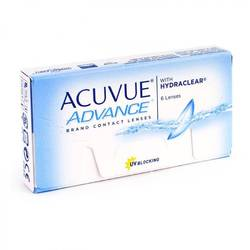 Johnson&Johnson Acuvue Advance saptamanale 6 lentile / cutie