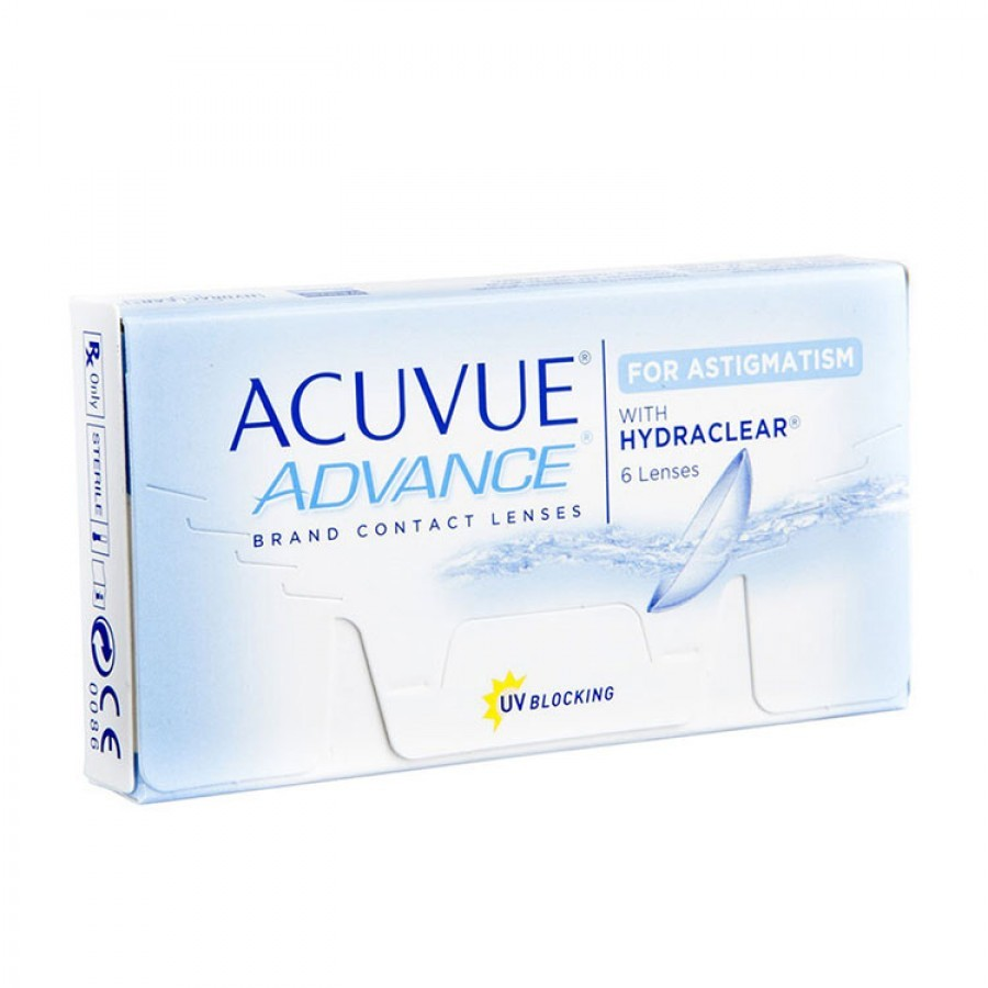 JohnsonJohnson Johnson&Johnson Acuvue Advance for Astigmatism saptamanale 6 lentile / cutie