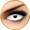 ColourVUE Sclera Snow Witch - lentile de contact colorate albe anuale - 185 purtari (2 lentile/cutie)