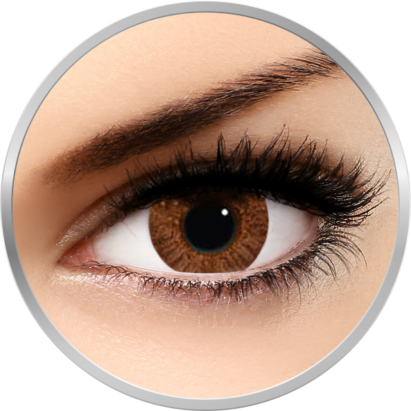 Freshlook Colorblends Honey – lentile de contact colorate caprui lunare – 30 purtari (2 lentile/cutie) de la Alcon  Ciba Vision
