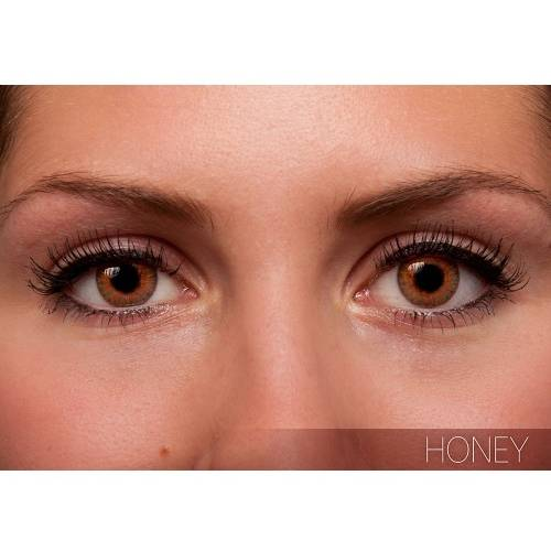 Alcon / Ciba Vision Freshlook Colorblends Honey - lentile de contact colorate caprui lunare - 30 purtari (2 lentile/cutie)