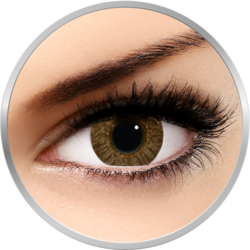 Alcon Freshlook Colorblends Pure Hazel - lentile de contact colorate caprui lunare - 30 purtari (2 lentile/cutie)