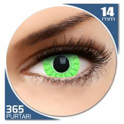Fancy Green Mist - lentile de contact colorate verzi anuale - 360 purtari (2 lentile/cutie)