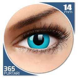 Fancy Pacific Blue - lentile de contact colorate albastre anuale - 360 purtari (2 lentile/cutie)
