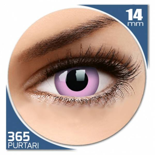 Phantasee Fancy Pinky - lentile de contact colorate roz anuale - 360 purtari (2 lentile/cutie)