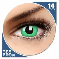 Fancy Green - lentile de contact colorate verzi anuale - 360 purtari (2 lentile/cutie)