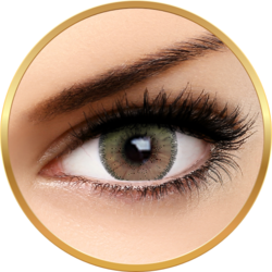 Auva Vision Fashion Lentilles French Brown - lentile de contact pentru Halloween anuale - 365 purtari (2 lentile/cutie)