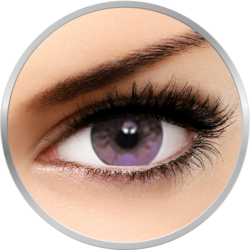 Soflens Natural Colors Indigo - lentile de contact colorate violet lunare - 30 purtari (2 lentile/cutie)