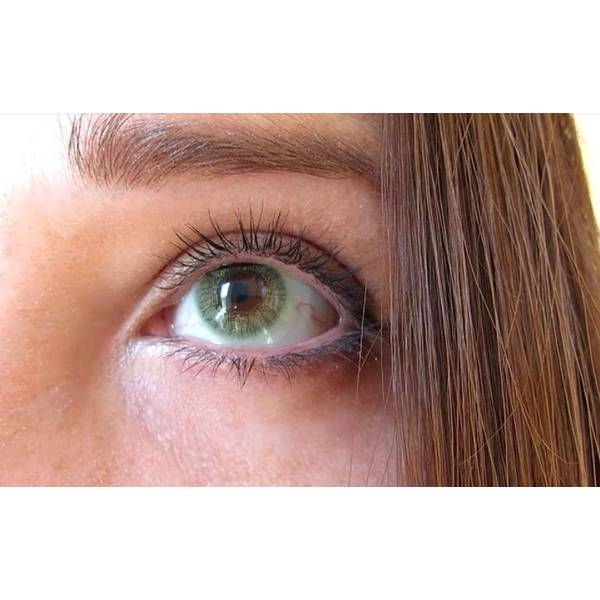 Alcon / Ciba Vision Freshlook Colors Green - lentile de contact colorate verzi lunare - 30 purtari (2 lentile/cutie)