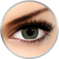 Freshlook Colors Green - lentile de contact colorate verzi lunare - 30 purtari (2 lentile/cutie)